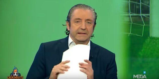 Josep Pedrerol estalla en 'El Chiringuito':