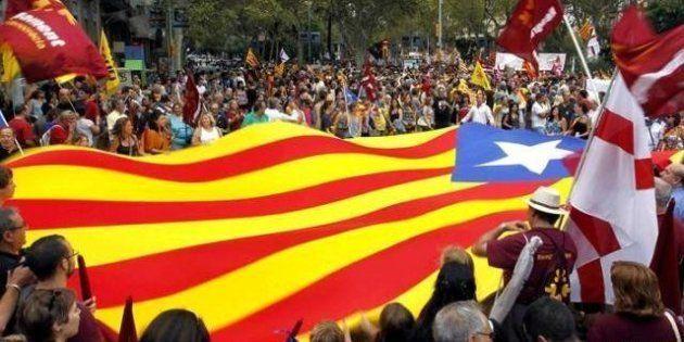 Diada 2012: El independentismo saca músculo en el día de