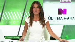 Cristina Saavedra revienta: