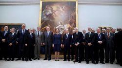 El vergonzoso (y llamativo) detalle en esta foto de la Real Academia de Bellas Artes de San