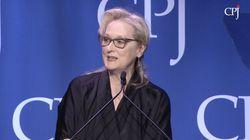Meryl Streep denuncia los abusos que