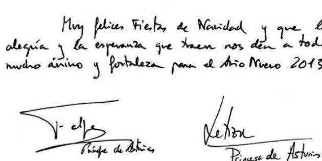 Felicitación de Navidad de la Familia Real: firman Leonor y Sofía y no están los Duques de Palma y Elena