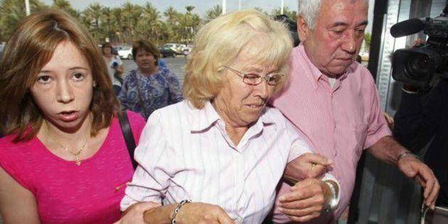 María del Carmen García (centro), en una imagen de