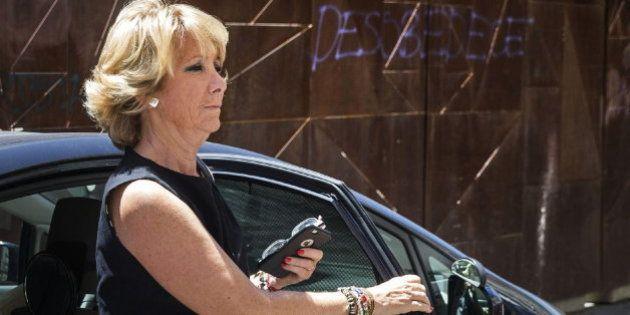 El juez archiva el incidente de tráfico de Aguirre porque ya no hay