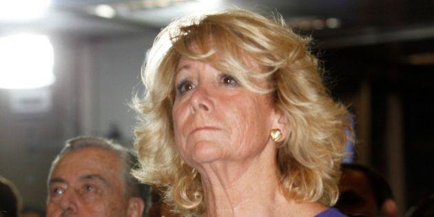 Esperanza Aguirre califica de