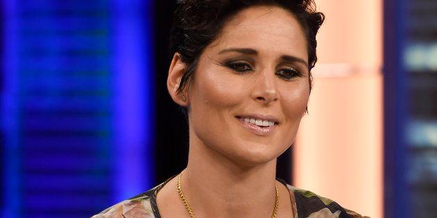 La cantante Rosa López en el programa de televisión 'El