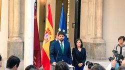 López Miras jura su cargo como séptimo presidente de