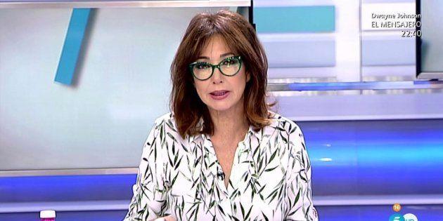 Ana Rosa Quintana transmite su pésame a Susanna Griso por la muerte de su