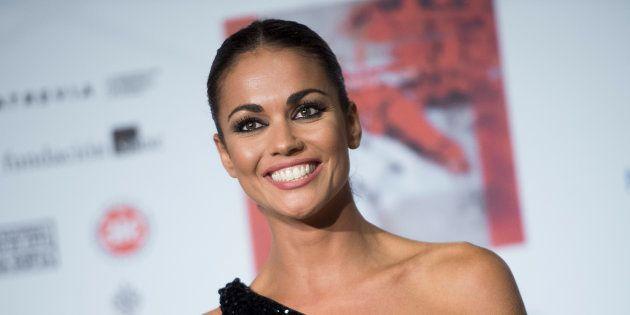 La presentadora Lara Álvarez durante la Gala Madwomen Awards en