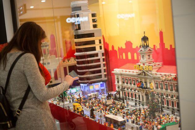 Esto es lo que te encontrarás si visitas la tienda de Lego en