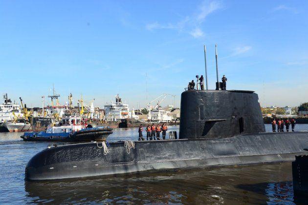 Imagen de archivo del submarino