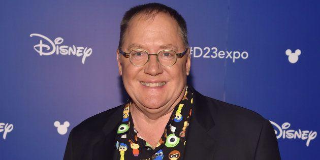 John Lasseter, en un evento de Disney en California en julio de