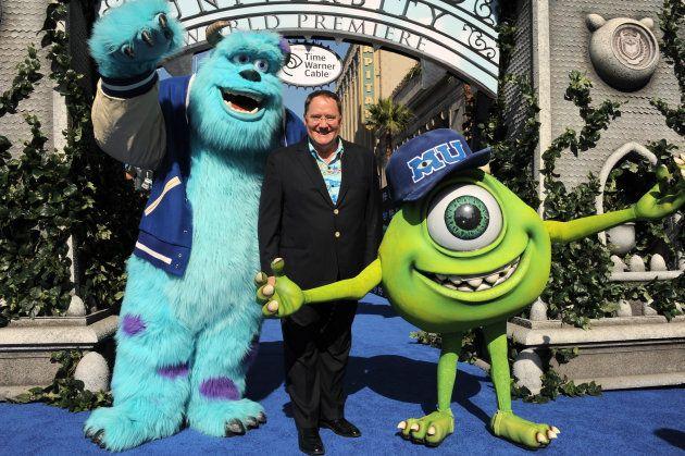 El productor John Lasseter, en el estreno de Monsters University el 17 de junio de 2013 en Los