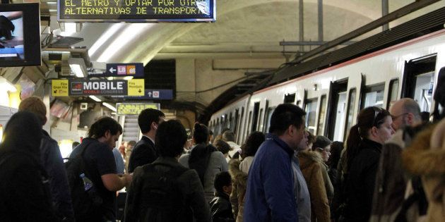 Agreden a una joven con síndrome de Down en el metro de