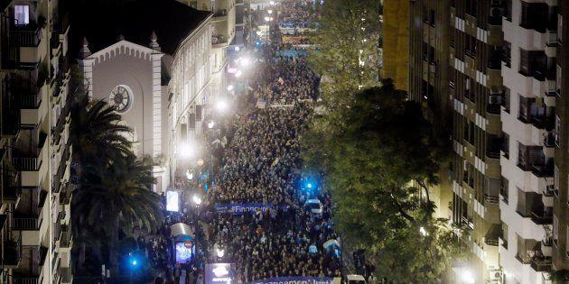 Miles de valencianos salieron a la calle el pasado 18 de noviembre para reclamar una financiación autonómica