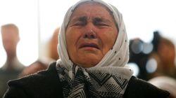 La emoción de las madres de Srebrenica tras la condena de