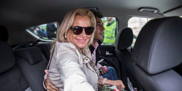 Maite Zaldívar sale de la cárcel con su primer permiso penitenciario de seis