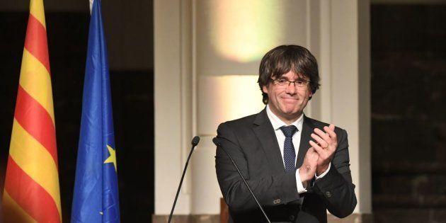 Carles Puigdemont, expresidente de la
