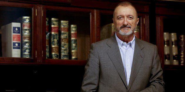 El escritor y académico Arturo Pérez-Reverte, fotografiado el pasado otoño en la Real Academia, en