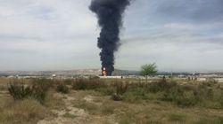 Varias explosiones en una fábrica de disolventes en Arganda del Rey (Madrid) dejan 16
