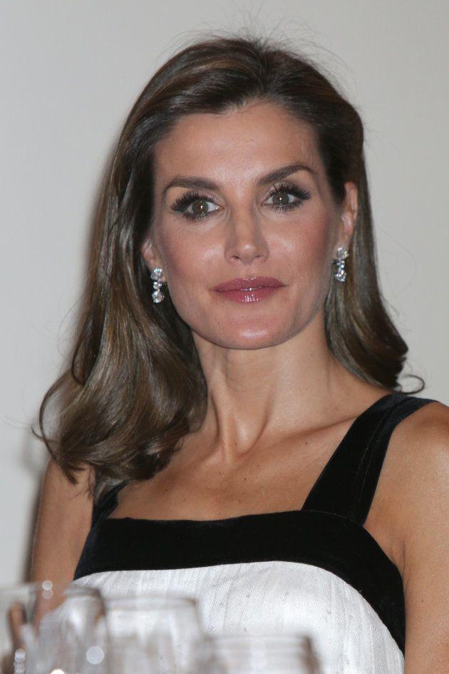 La reina Letizia en los premios Francisco Cerecedo, en