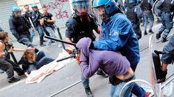 Miles de estudiantes protestan en Italia contra los recortes (VÍDEOS,