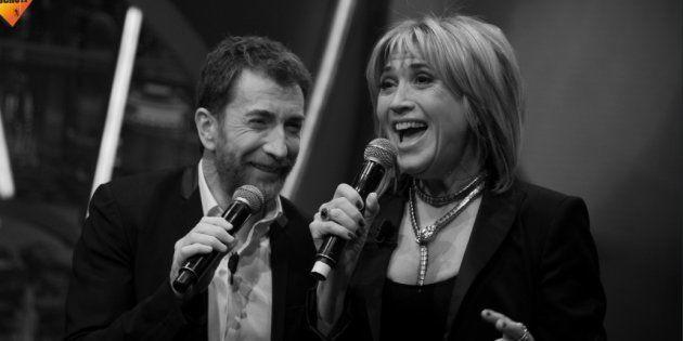 Pablo Motos y Julia Otero interpretando 'Parole