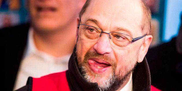 Imagen de archivo del líder del SPD, Martin