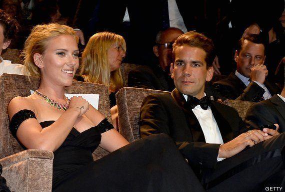 Scarlett Johansson, Romain Dauriac: prometidos
