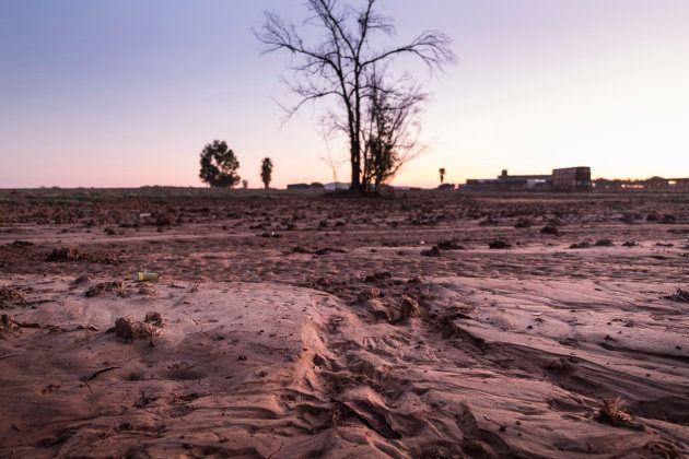 Paraje seco en Jerez de la Frontera,