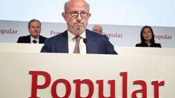 El Banco Popular pierde 137 millones de euros hasta marzo por provisiones