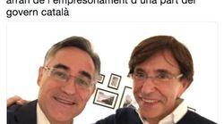 Un eurodiputado del PDeCAT hace el ridículo tras pedirle una foto al ex primer ministro