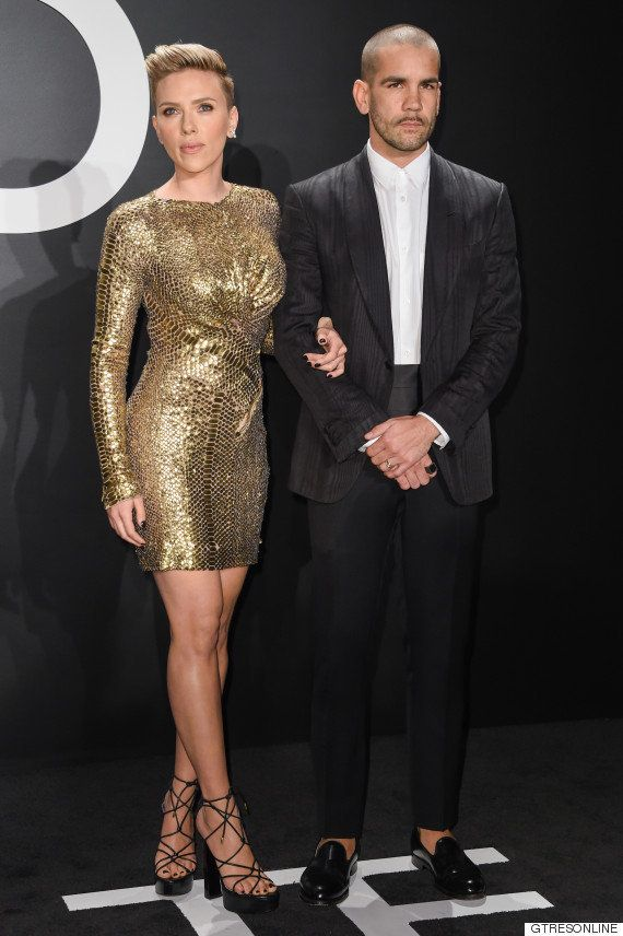 Scarlett Johansson y su marido, Romain Dauriac, se