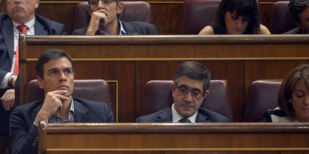 Pedro Sánchez y Patxi