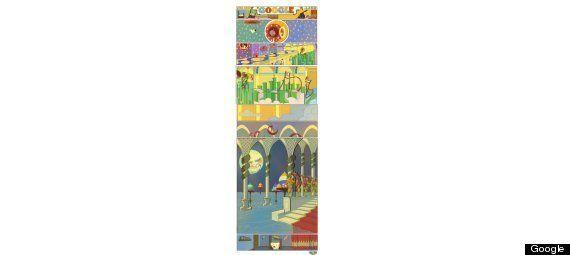 Doodle de homenaje al cómic: Little Nemo se mueve en Google para recordar a Winsor McCay