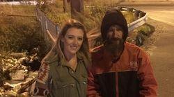 Una joven recauda 225.000 dólares para un indigente que gastó sus últimos 20 dólares en