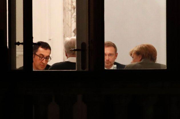 Negociaciones entre CDU, CSU, Liberales y
