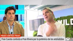El duro cara a cara entre Fran Rivera y Frank Cuesta en 'Espejo