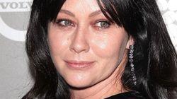 Las duras fotos de Shannen Doherty (Brenda en 'Sensación de vivir') rapándose por su
