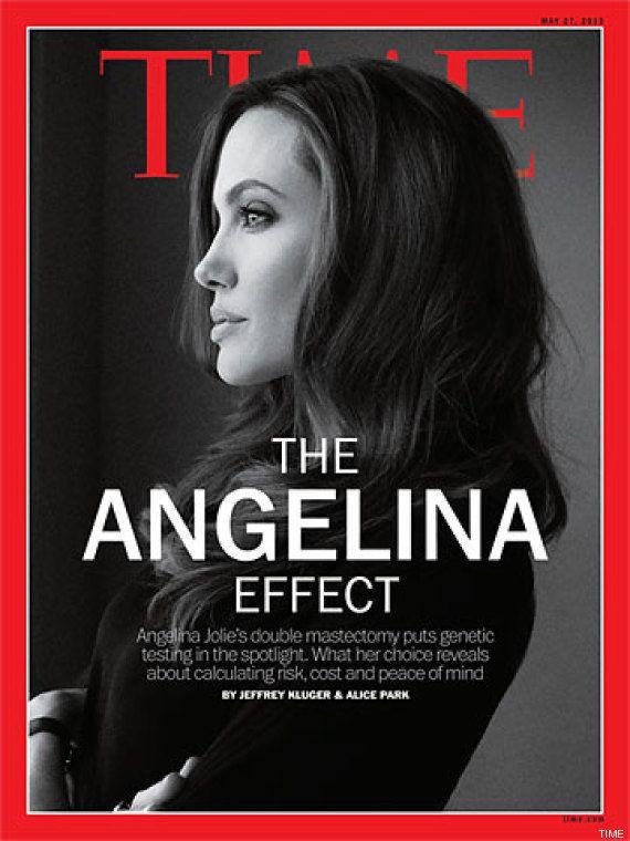 Angelina Jolie, portada de la revista