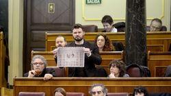 Rufián denuncia a Casado, a Zoido y a Albiol ante el ministerio del