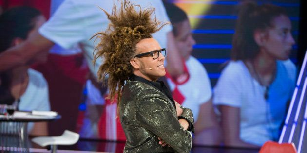Torito durante el debate del programa 'Gran Hermano' de Telecinco en