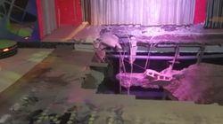 22 heridos al desplomarse el suelo de una discoteca en Adeje