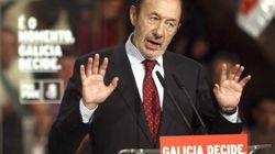 Crecen las voces críticas dentro del PSOE, pero Rubalcaba no dimite
