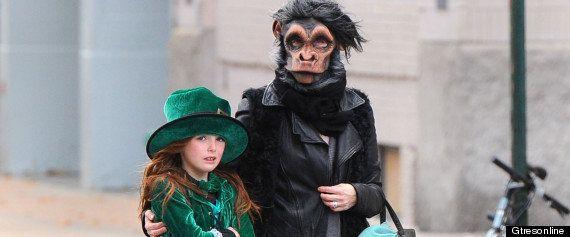 Famosos disfrazados en Halloween: dime cómo te vistes y te diré a cuál te pareces