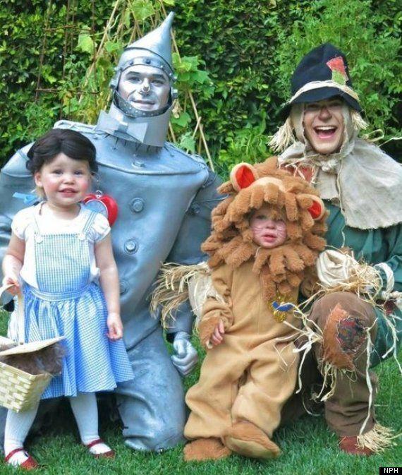 Famosos disfrazados: los mejores de Halloween 2012