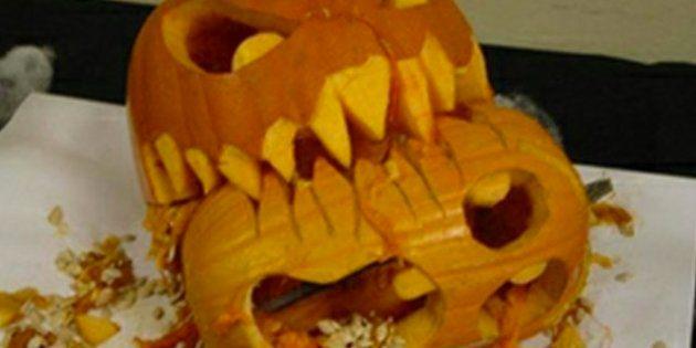 Las peores mejores calabazas de Halloween