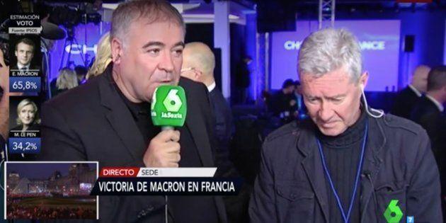 """Verstrynge la lía con su encendida defensa del Frente Nacional de Le Pen: """"No es un partido fascista"""""""