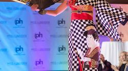 De ninja a geisha en un instante: el brutal traje de Miss Japón en Miss