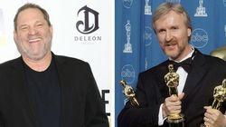 La razón por la que James Cameron casi golpea a Harvey Weinstein con un Oscar en